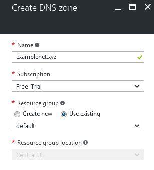 create-dns-zone