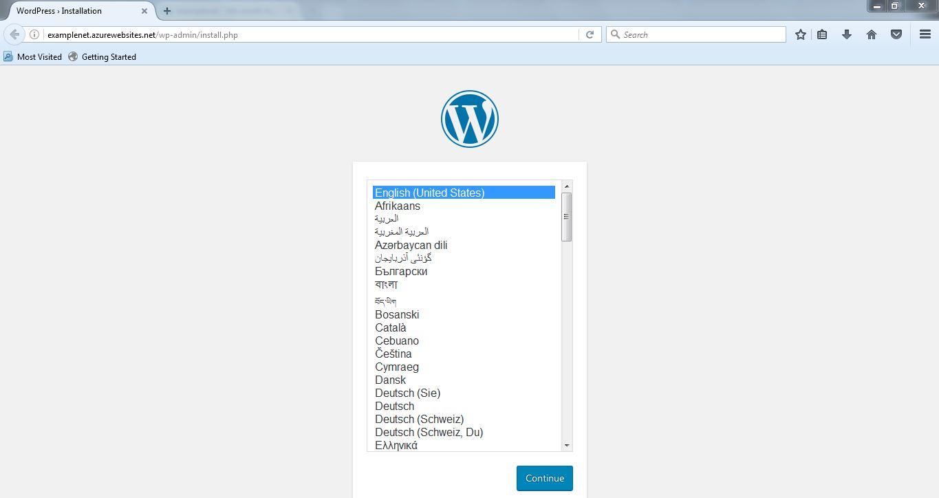 wordpress-page