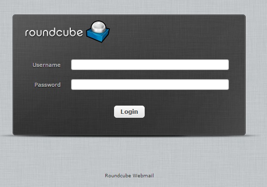roundcube-login-screen-page